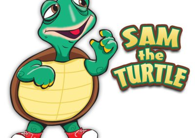 Sam the Turtle Sign